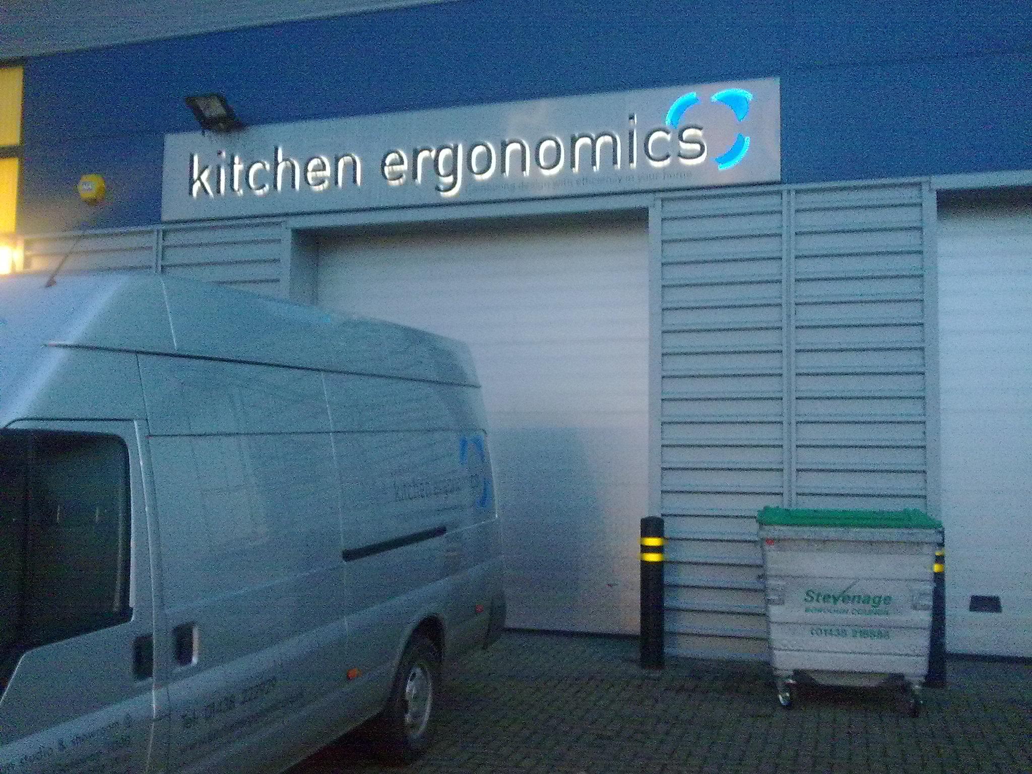 Square Metal Panel Sign With Logo Transfer (Kitchen Ergonomics ...
