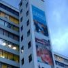 large building vinyl banner