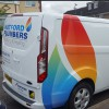 plumbers van graphics