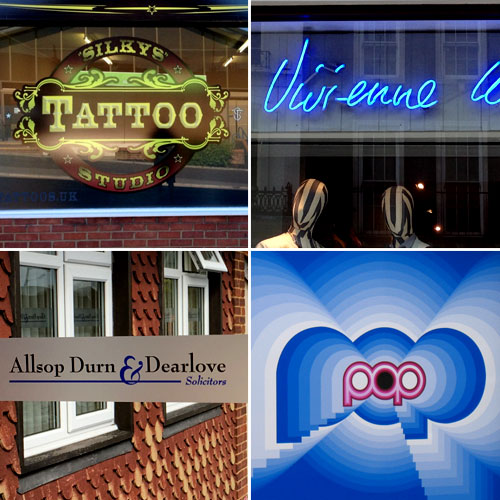 business signs - window graphics